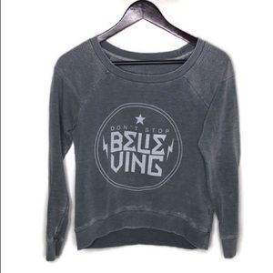 Chaser Don't Stop Believing Sweatshirt SzS